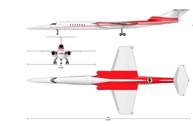 Boeing inwestuje w naddźwiękowy samolot Aerion AS2