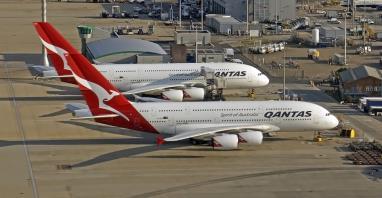 """Qantas """"budzą"""" flotę do długich rejsów. """"Widzimy teraz światło na końcu tunelu"""""""