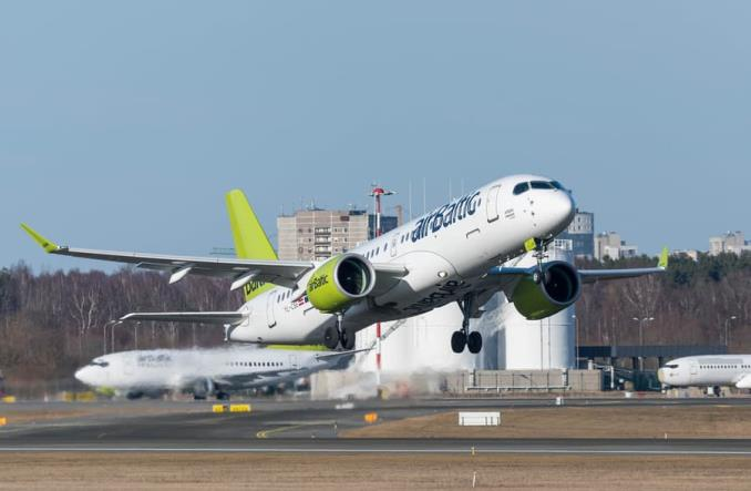 AirBaltic odbiera 19. airbusa A220-300