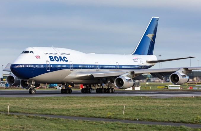 British Airways: B747 w barwach retro (ZDJĘCIA)