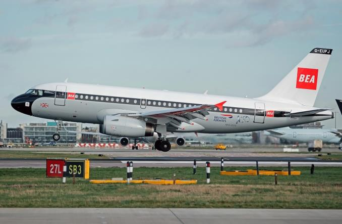British Airways: A319 w barwach retro (ZDJĘCIA)