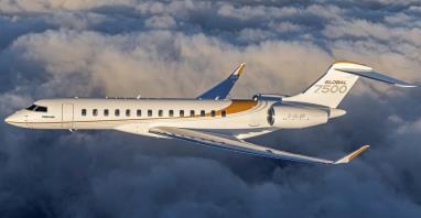 Odpowiedź Bombardiera na rekordy lotnicze Gulfstreama