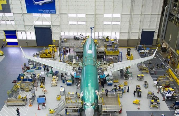 Boeing: Styczeń z najniższą sprzedażą od 1962 roku
