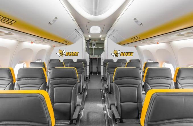 Ryanair Sun zmienia nazwę na Buzz! Przemalowanie maszyn na jesieni (aktualizacja)