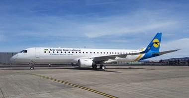 UIA powitały pierwszego Embraera 195