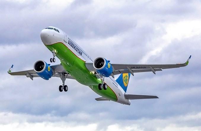 Uzbekistan Airways odebrały pierwszego A320neo