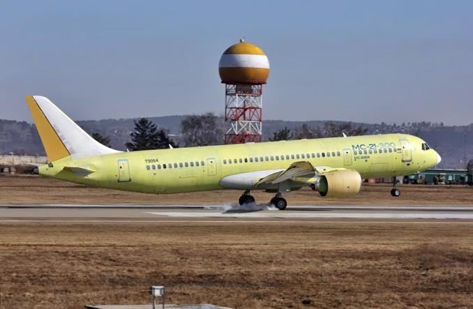 Irkut: Trzeci MC-21 wykonał pierwszy lot