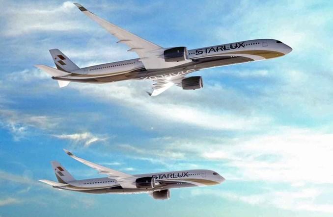 Starlux zamawia 17 airbusów A350