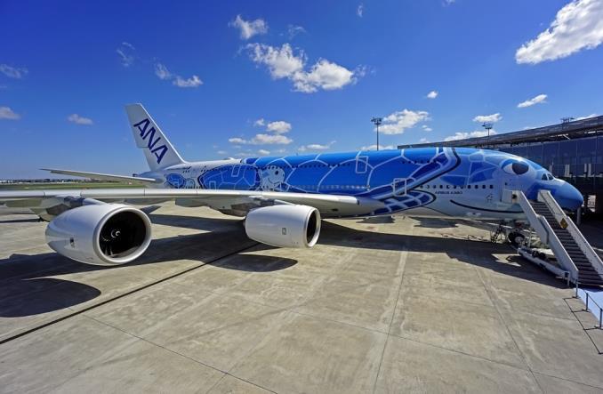 ANA odebrała pierwszego airbusa A380 (zdjęcia)