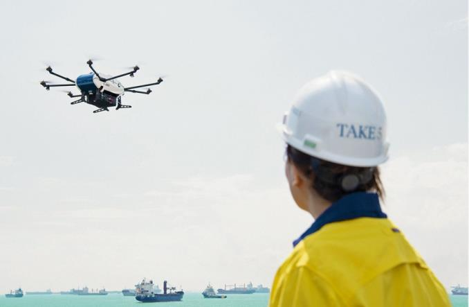 Drony Airbusa w branży morskiej