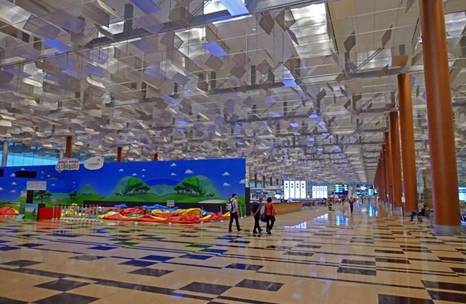 Singapurskie lotnisko Changi po raz kolejny najlepsze według Skytrax