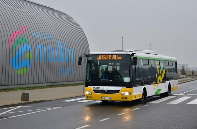 Arriva nadal będzie wozić pasażerów na lotnisko w Modlinie
