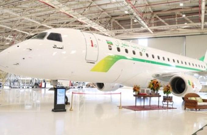 Pierwszy E175 dla Mauritania Airlines