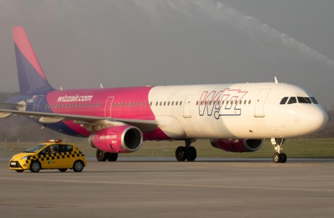Wizz Air: Ponad 20-procentowy wzrost ruchu w maju