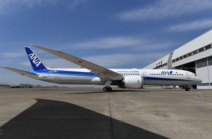 ANA z największą flotą Dreamlinerów na świecie. Linie odebrały pierwszego B787-10