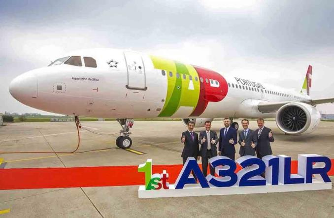 TAP Air Portugal odebrały pierwszego A321LR