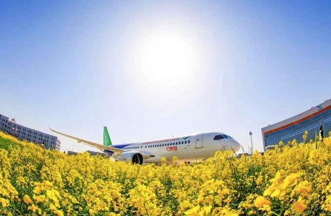 China Eastern utworzą specjalnego przewoźnika dla samolotów Comac