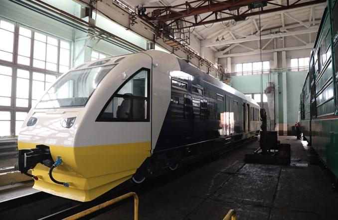Kijów: Szósty szynobus Pesy zmodernizowany do obsługi trasy na lotnisko