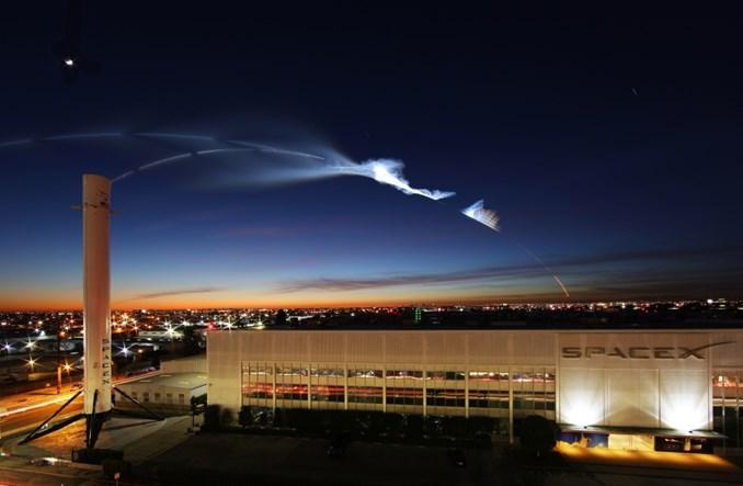 Lot Space X z sukcesem. Polacy też pracują nad rakietami kosmicznymi wielokrotnego użytku