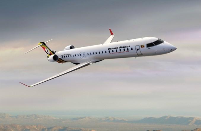 Uganda Airlines niedługo wznowi działalność. Odbiór CRJ 900