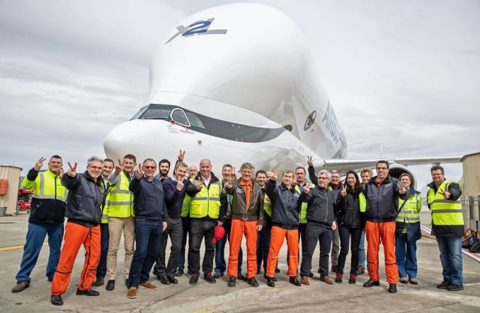 Airbus: Druga BelugaXL rozpoczęła loty (ZDJĘCIA)