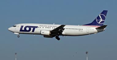 LOT pożegnał boeingi 737-400, które otrzymają drugie życie jako frachtowce