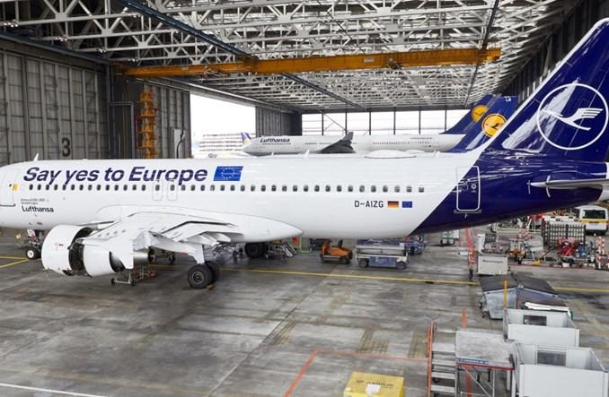 Lufthansa promuje… wybory do Parlamentu Europejskiego