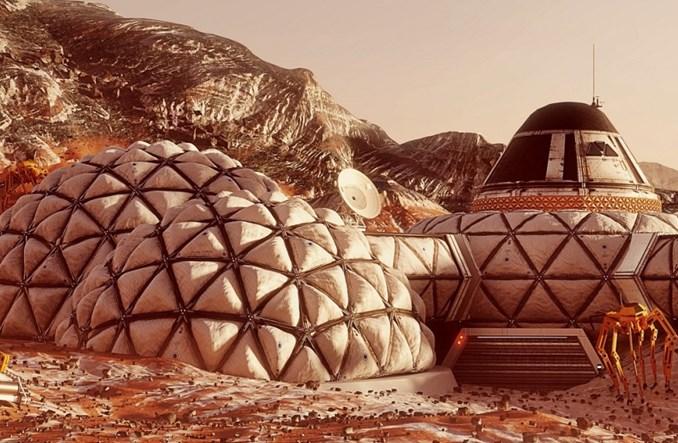 Polski pomysł na bazę na Marsie zajął 2. miejsce w prestiżowym konkursie