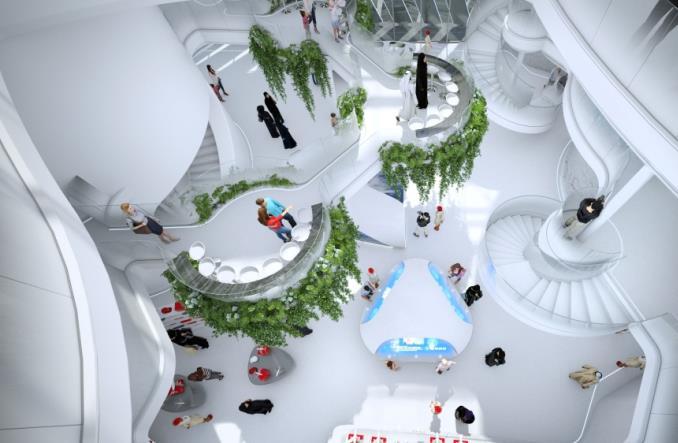 Emirates prezentują pawilon na Expo 2020 w Dubaju