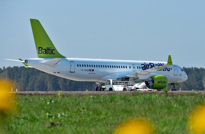 airBaltic realizuje projekt zielonego latania