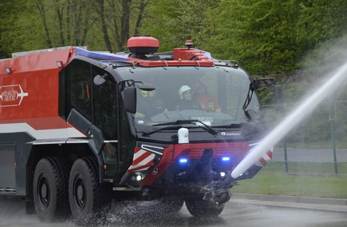 Kraków Airport z najnowocześniejszym w Polsce wozem strażackim