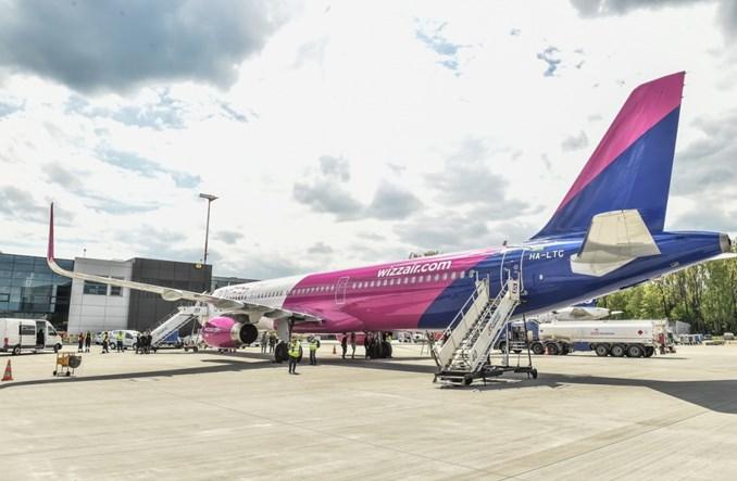 Wizz Air oficjalnie otworzył bazę w Krakowie