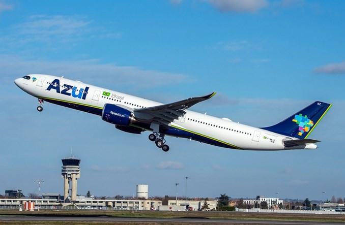 Azul Linhas Aéreas odebrały pierwszego A330neo