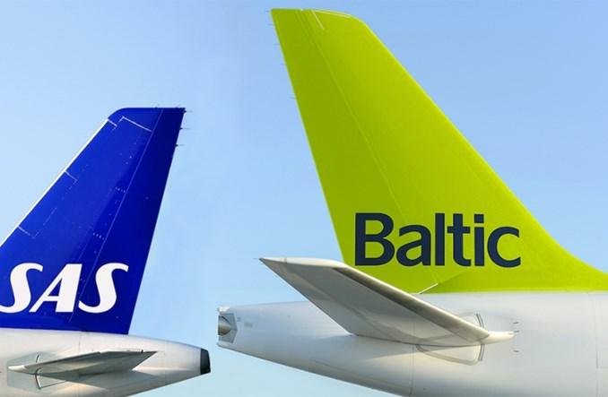 airBaltic i SAS podpisały umowę code-share