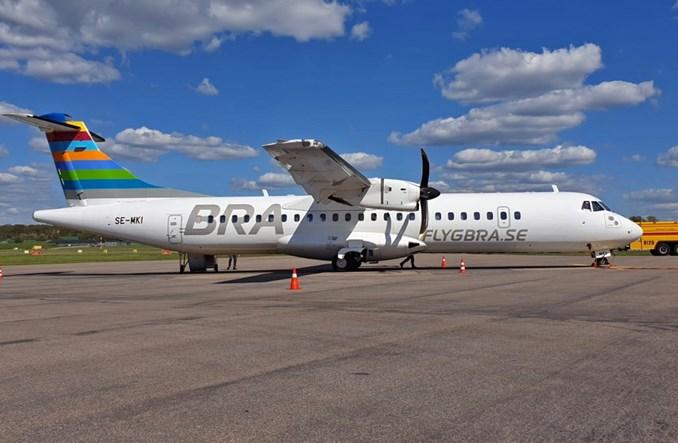 ATR, Braathens i Neste Air BP z doskonałym lotem w Szwecji