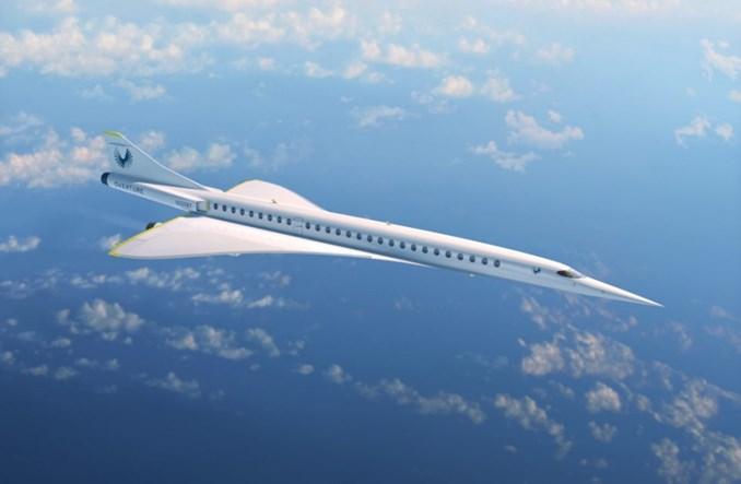 Powstaje najszybszy w historii samolot pasażerski