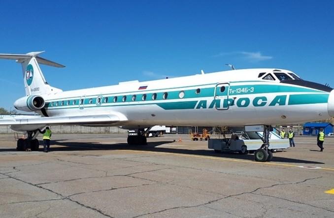 Ostatni regularny lot Tu-134
