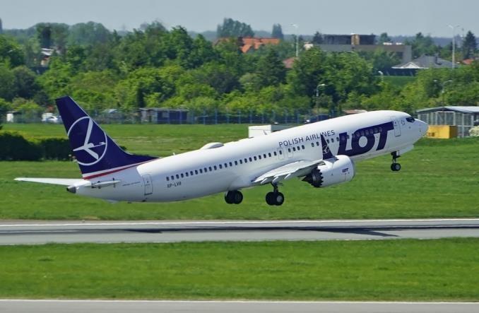 LOT przebazuje pięć Boeingów 737 MAX 8 do Lublina