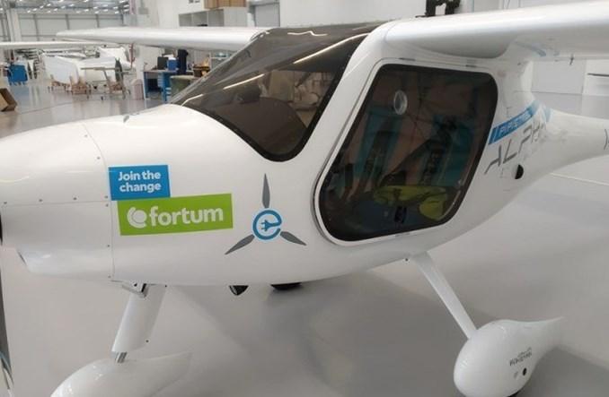 Pierwszy przelot samolotu elektrycznego w Polsce
