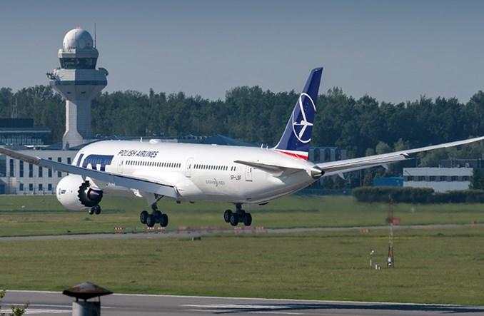 14. Dreamliner LOT-u już w Warszawie