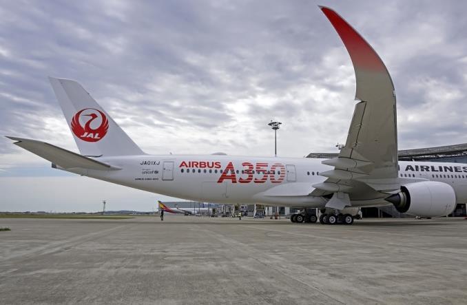 JAL odebrał pierwszego airbusa A350 (zdjęcia)