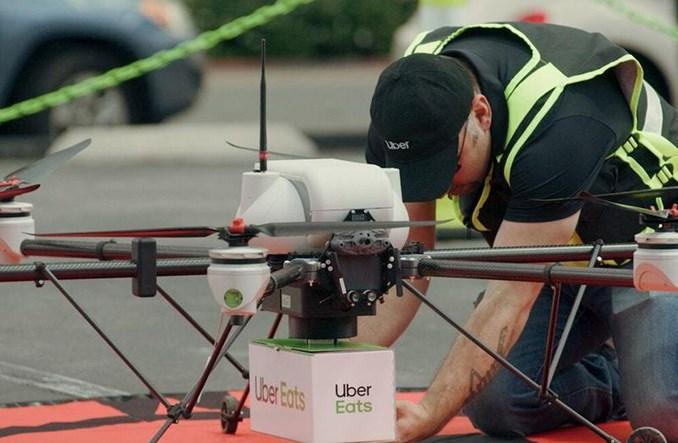 Uber: Wspólne z McDonald's testy dronów dostawczych