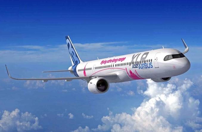 Airbus w Paryżu ogłasza A321XLR