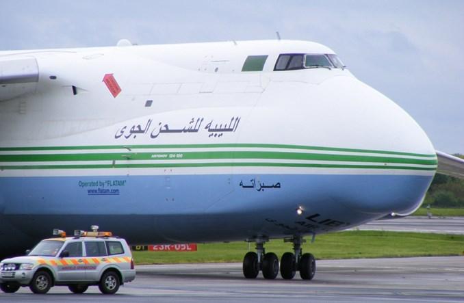 """Libijski An-124 zniszczony. Ukraińcy aresztują pięć rosyjskich """"Rusłanów"""""""