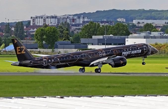 Belavia wyleasinguje embraery E-Jet E2