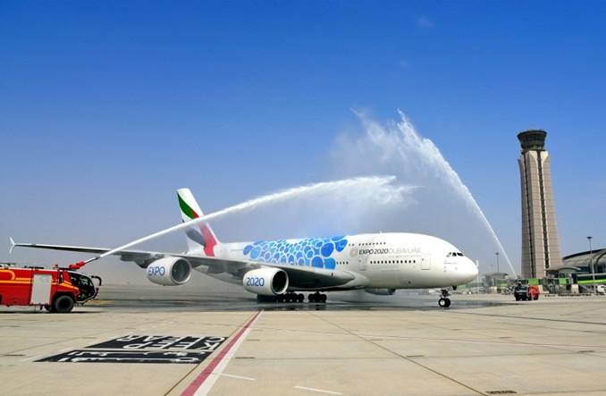 Inauguracja najkrótszego rejsu A380 na świecie