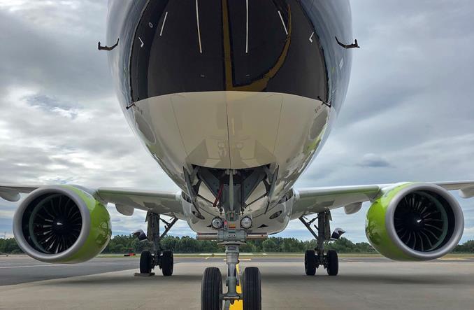 airBaltic: A220 w estońskich barwach