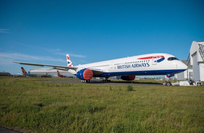 British Airways odebrały pierwszego airbusa A350