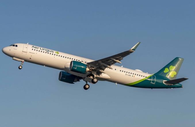 Aer Lingus odebrał pierwszego A321LR