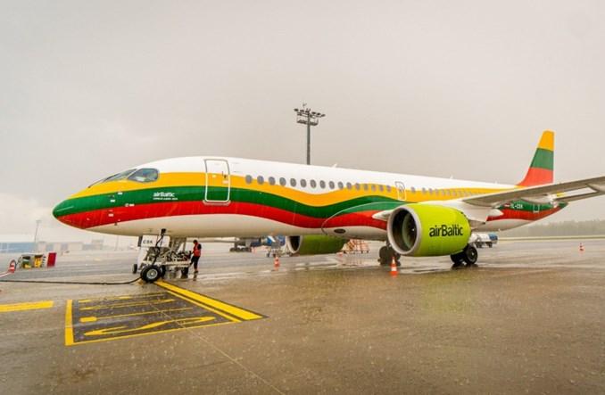 Od sezonu zimowego airBaltic zbazuje airbusa A220 w Wilnie